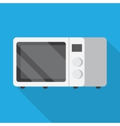 Microwave oven icon vector image