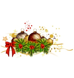 icon christmas background vector image vector image
