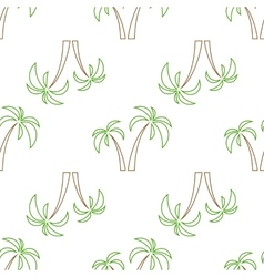palms seamless isolated vector image