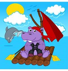 Hippo on raft vector