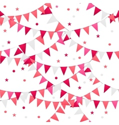 Party Background Seamless Pattern vector image