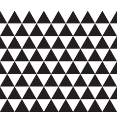 Abstract geometric seamless texture of triangles vector image