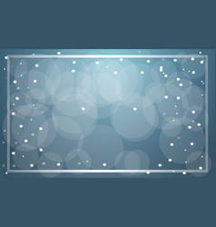 blue christmas sale background vector image