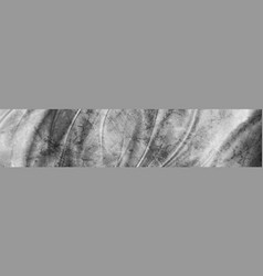grey smooth grunge waves abstract banner vector image