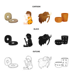 Isolated object evolution and neolithic sign vector