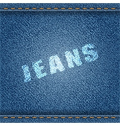 Jeans Banner vector