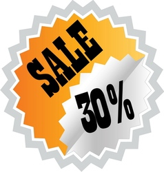 sale3 resize vector image