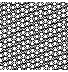 Simple black and white dot pattern vector