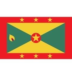 Grenada flag image vector image