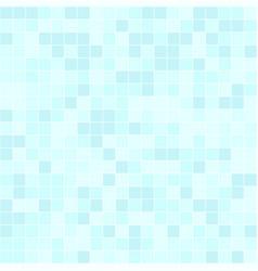 Cyan square pattern seamless vector