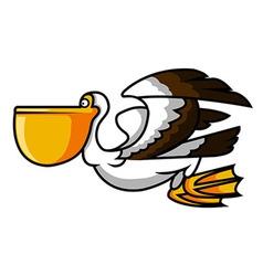 Pelican Bird vector image