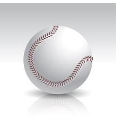 Isolated Baseball Ball vector image