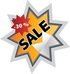 sale6 resize vector image