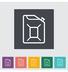 Gas Containers vector image