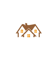House architecture home logo design icon vector