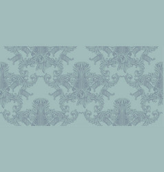 luxury invitation card royal victorian vector image