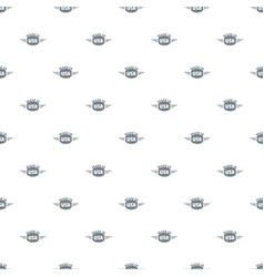 made in usa pattern seamless vector image