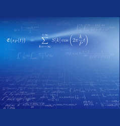 Mathematics background vector