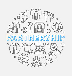 Partnership concept in thin vector