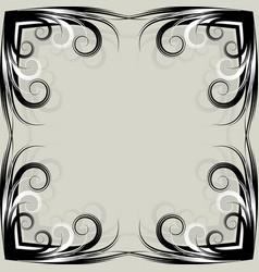 Symmetric grey background vector