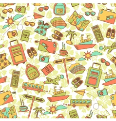 Travel pattern vector