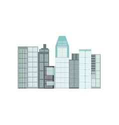 modern skyscrapers in singapore vector image