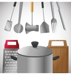 Kitchen tools editable vector