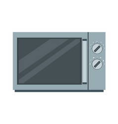 microwave oven icon kitchen food cooking vector image vector image