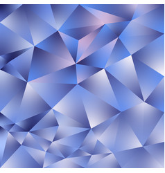 abstract polygonal square background blue vector image