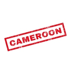 Cameroon Rubber Stamp vector