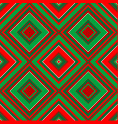 Christmas geometrical wrapping paper vector