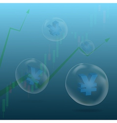 Currency bubble4 vector