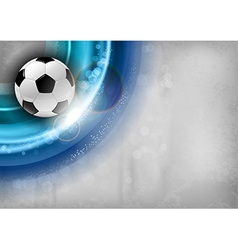 football background blue vector image