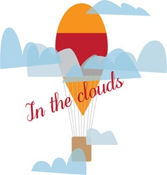 In The Clouds vector