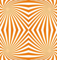 Orange quadrant spiral pattern background vector