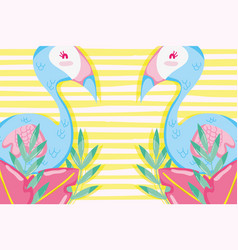 Punchy pastel flemishes vector