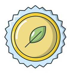 refreshing drink cap icon cartoon style vector image