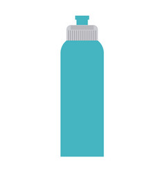 Water bottle thermo vector