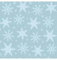 Winter christmas seamless background vector image vector image