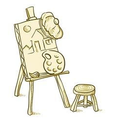 Art Board vector image vector image