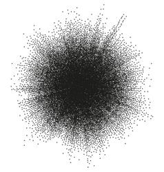 Halftone blast EPS 10 vector image