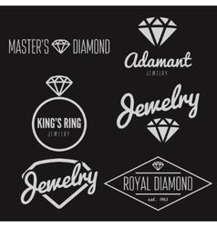 Set of logo emblem label print sticker or vector image vector image