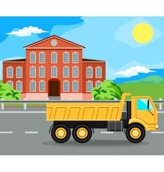Construction machinery and home vector