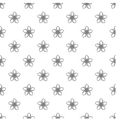 cosmetic flower pattern seamless vector image
