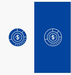Diagram analysis budget chart finance financial vector