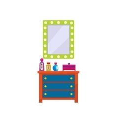 Dressing Room Furniture vector