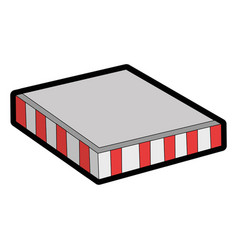food box package icon vector image