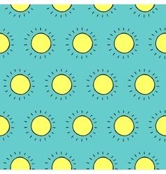 Summer Sun Pattern vector