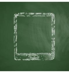 Tablet icon vector