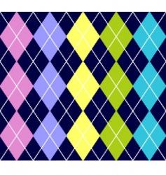 argyle pattern vector image vector image